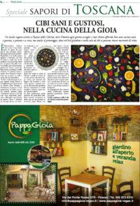 PappaGioia - La Repubblica Firenze - Speciale Sapori di Toscana